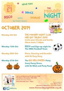 monday night club october