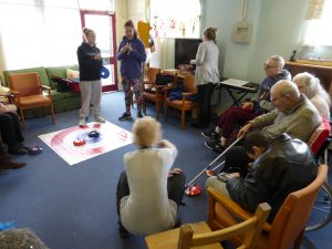 Kurling session at Headway