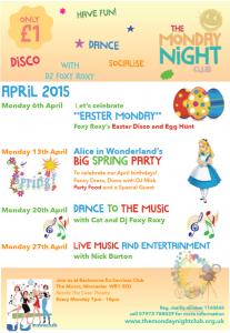 mnc april timetable