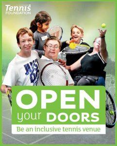Advert for the Open Your Door workshop in Worcestershire
